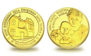 Medal pamiątkowy Dom Rodzinny Ojca Świętego Jana Pawła II w Wadowicach 092