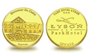 Medal pamiątkowy ParkHotel Łysoń w Inwałdzie 127