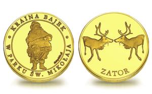 Medal pamiątkowy Park Św Mikołaja 181