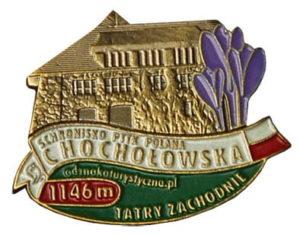Odznaka Schronisko PTTK Polana Chochołowska 002