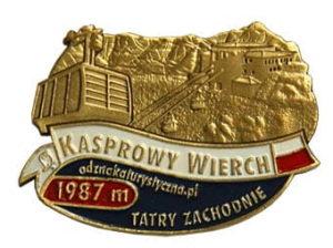 Odznaka Kasprowy Wierch 006