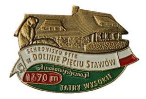 Odznaka Schronisko PTTK w Dolinie Pięciu Stawów Polskich 026