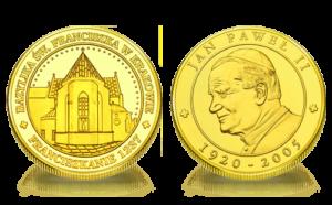 Medal pamiątkowy Kościół św. Franciszka z Asyżu w Krakowie 062
