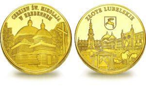 Medal pamiątkowy z Limitowanej Kolekcji Złotej Polski: Cerkiew św. Mikołaja w Hrebennem SPL_006