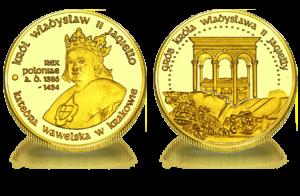 Medal pamiątkowy Król Władysław II Jagiełło 221