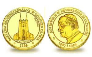 Medal pamiątkowy Archikatedra Oliwska 157