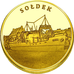 Medal: Narodowe Muzeum Morskie w Gdańsku – Sołdek 400