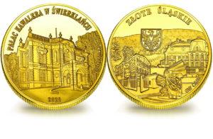 Medal pamiątkowy z Limitowanej Kolekcji Złotej Polski: Pałac Kawalera w Świerklańcu SPL_019