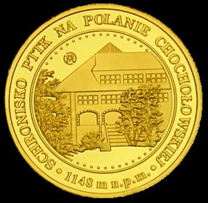 Medal: Schronisko w Dolinie Chochołowskiej w Tatrach 004
