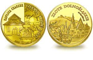 Medal pamiątkowy z Limitowanej Kolekcji Złotej Polski: Kaplica Czaszek – Czermna SPL_014