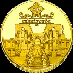 Medal: Zamek Krzyżtopór w Ujeździe 373