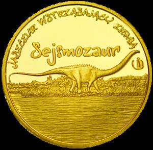 Medal: Łeba Park Sejsmozaur 264