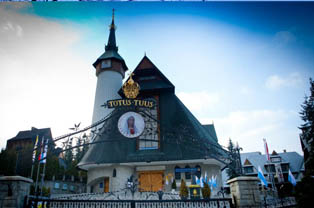 Sanktuarium na Krzeptówkach w Zakopanem