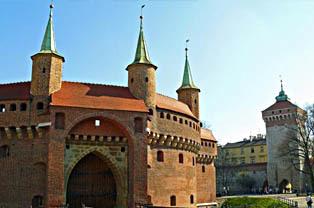 Barbakan w Krakowie