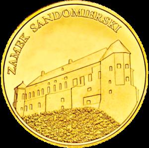 Medal Zamek Sandomierski 089