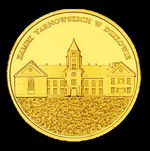 Medal: Zamek Tarnowskich w Dzikowie 088