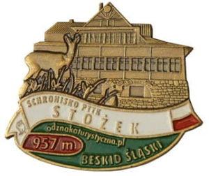 Odznaka Schronisko PTTK Stożek 033