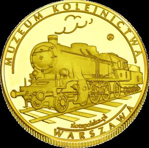 Medal: Muzeum Kolejnictwa w Warszawie 9MB